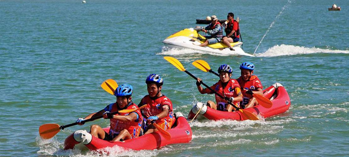 划入自然 首届中国全民休闲皮划艇大赛十月开赛