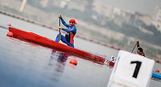 青运会皮划艇比赛集锦
