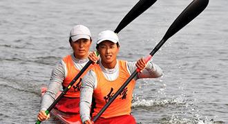 [视频]-女子双人皮艇500米决赛 辽宁选手夺冠