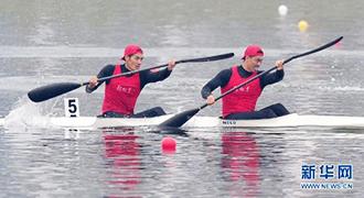 [视频]-男子双人皮艇1000米决赛 解放军队夺冠