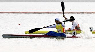 [视频]男子单人皮艇1000米决赛 周玉波获得冠军