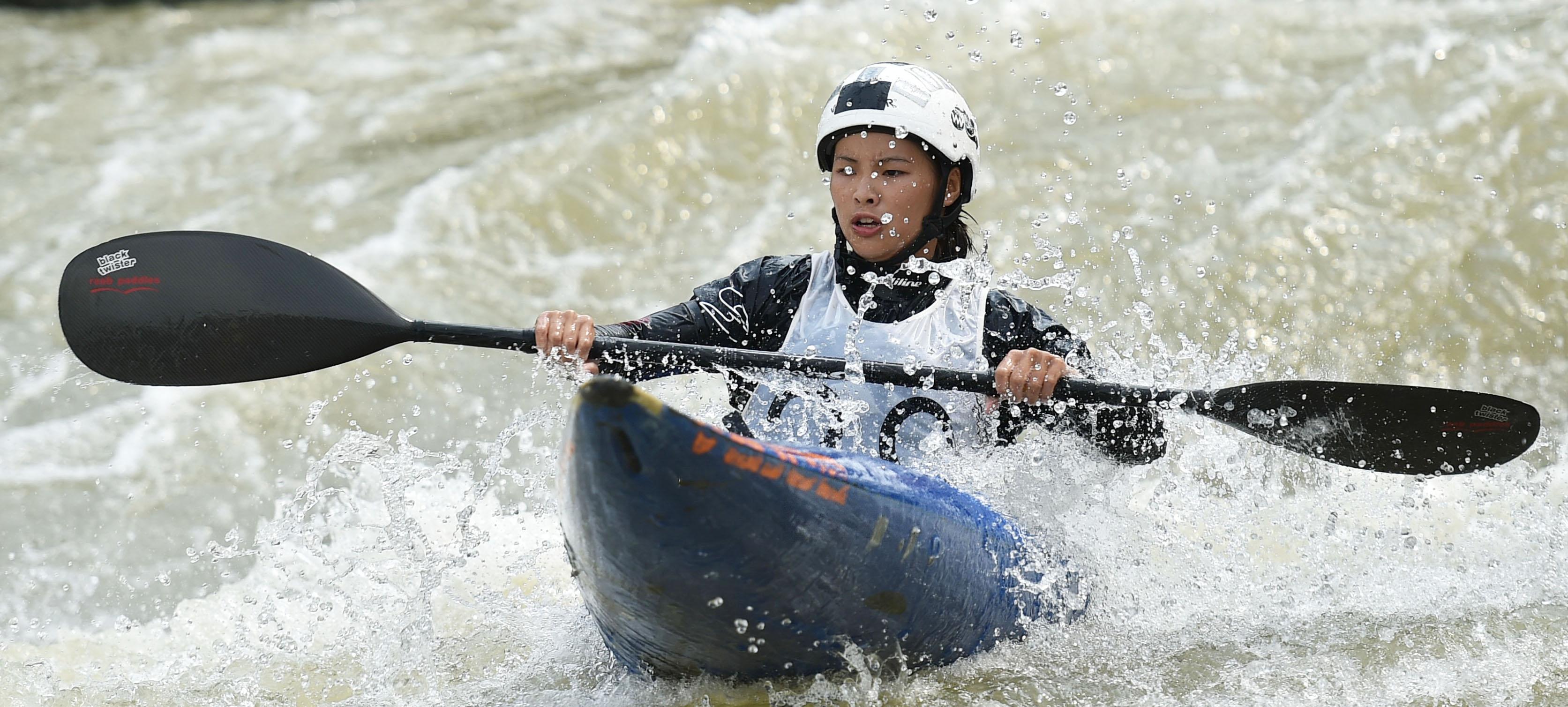 2016中国全民皮划艇激流及漂流推广季广州站开赛