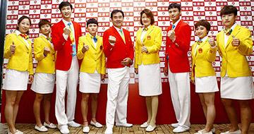 中国体育代表团礼服正式