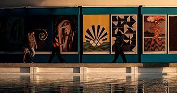 里约奥运会官方海报发布