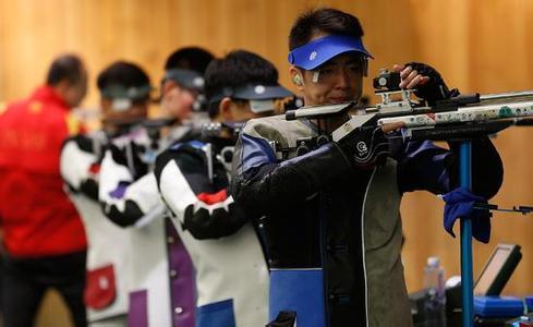 中国射击队展开奥运选拔赛 将初步确定奥运名单