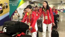中国女篮抵达里约