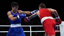 山俊不敌塔吉克斯坦选手尤努索夫