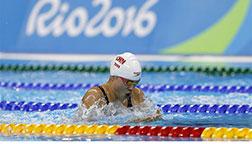 里约奥运会史婧琳晋级女子100米蛙泳决赛