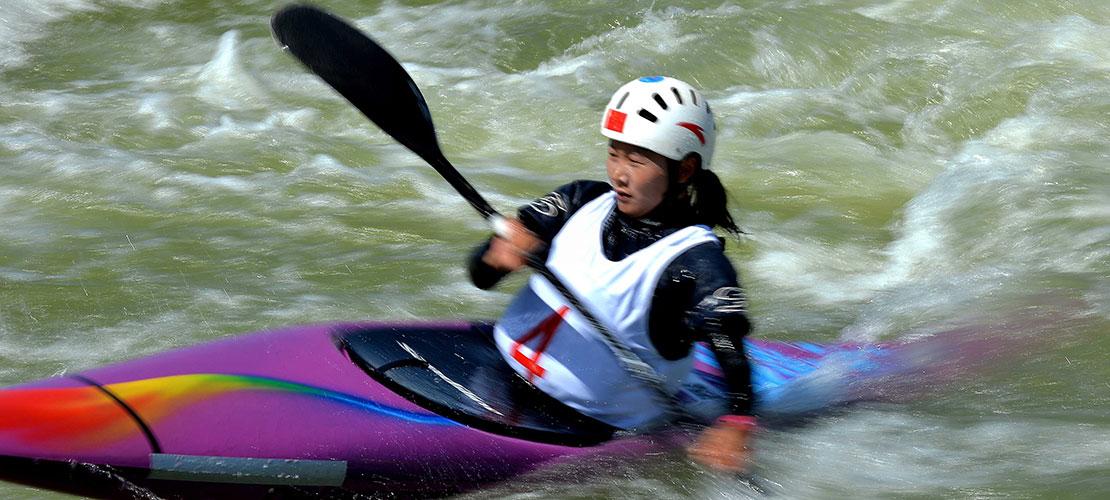 李露晋级奥运皮划艇激流回旋女子单人皮艇半决赛