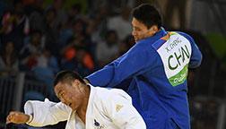 里约奥运会程训钊获男子柔道90公斤级铜牌