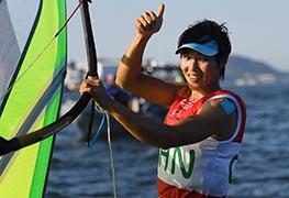 里约奥运会帆板女子RS:X级