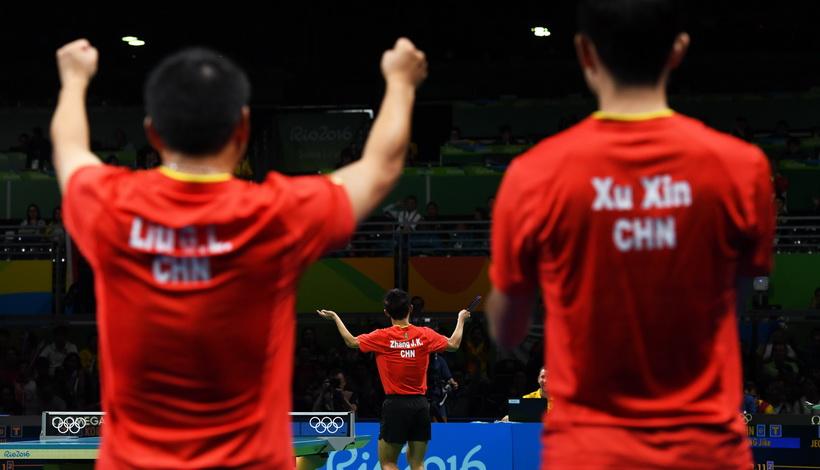 男团中国队再胜韩国进决赛 张继科苦战五局