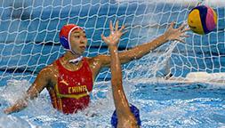 水球女子四分之一决赛:中国队负于意大利队