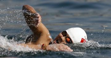 女子马拉松游泳:中国选手辛鑫获第四