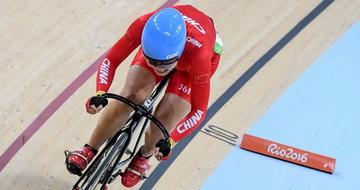 场地自行车女子全能赛:罗晓玲暂列第15位