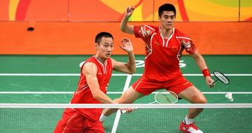 羽毛球男双:傅海峰/张楠晋级决赛