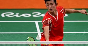 羽毛球:谌龙晋级男单半决赛