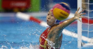 水球女子:中国不敌西班牙