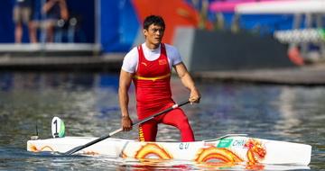 男子200米单人划艇:李强获第七名