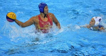 中国队获女子水球第七名