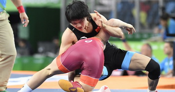 摔跤女子自由式53公斤级赛况