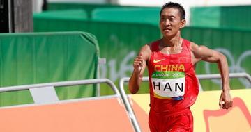 男子50公里竞走:韩玉成获第46