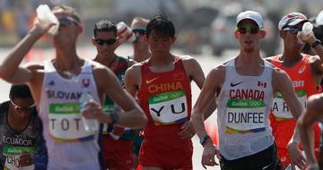 男子50公里竞走:于伟获第四