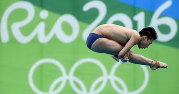 陈艾森晋级男子十米台决赛