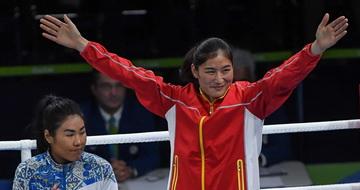 李倩获拳击女子69-75公斤级比赛铜牌