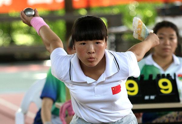 全国青年掷球锦标赛 小金属球比赛新人辈出