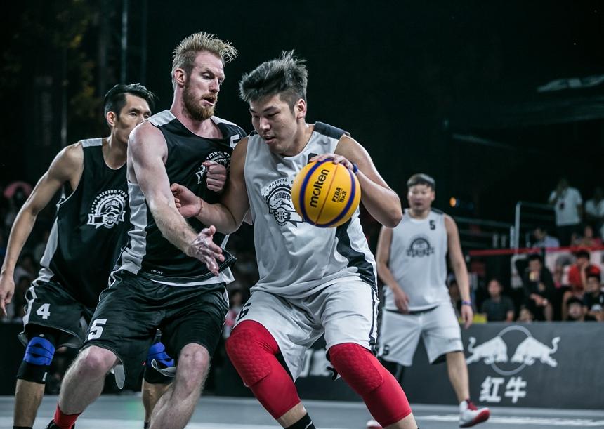 惊险!红牛队两次绝杀杀进FIBA3X3大师赛中国区总决赛