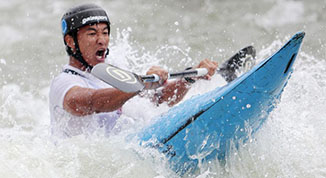 [组图]-2016年全国皮划艇激流回旋锦标赛精彩瞬间