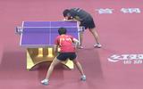 北京首钢丁宁VS深圳大学王艺迪乒超女团第一轮第一场
