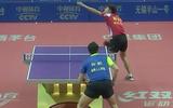 乒超男子首轮:上海VS四川