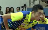 乒超男团首轮:上海VS四川