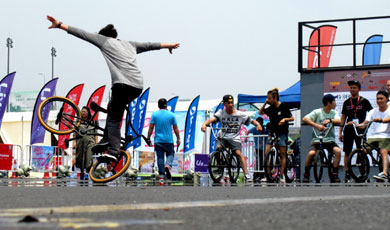 2016中国国际极限运动单车大师赛
