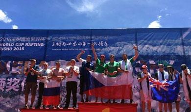 青海玉树:2016漂流世界杯圣水采集启动仪式举行