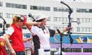 2015射箭世界杯上海开弓