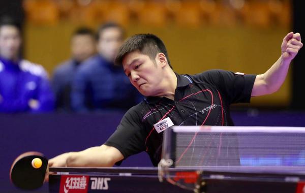 樊振东领军八一大商3-0战胜上海中星杀进决赛