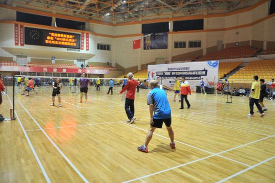 """北京市民""""快乐周末""""羽毛球、保龄球赛"""