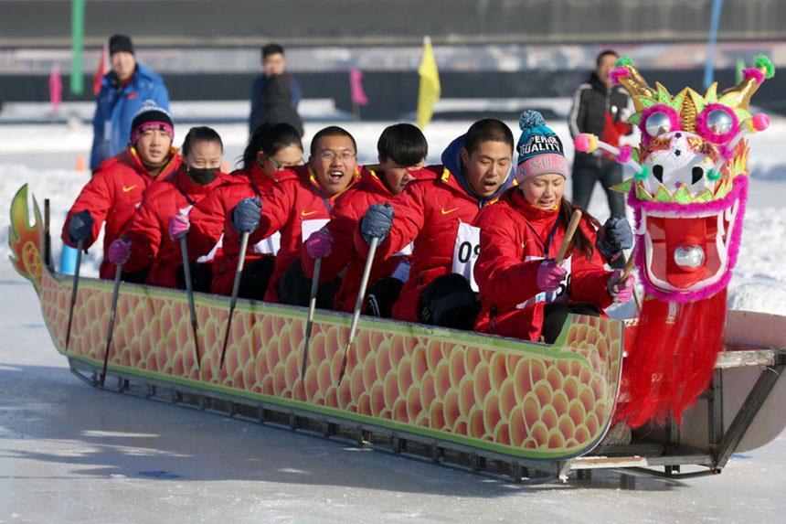 冬季阳光体育大会赛况