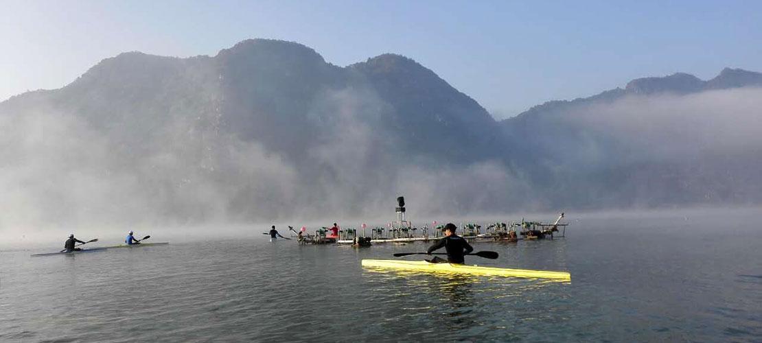 为新赛季蓄力 国家皮划艇二队云南冬训圆满结束