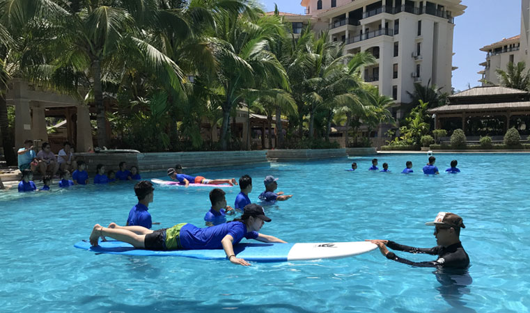 2017年全国青少年冲浪后备人才训练营正式开营
