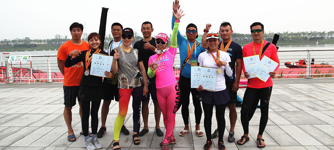 第十三届全国运动会皮划艇静水测试赛开赛