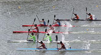 第十三届全国运动会皮划艇静水测试赛战况
