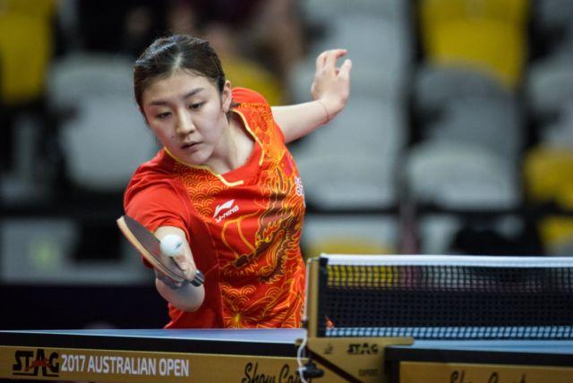 澳乒赛:中国女双会师决赛 女单六人进八强