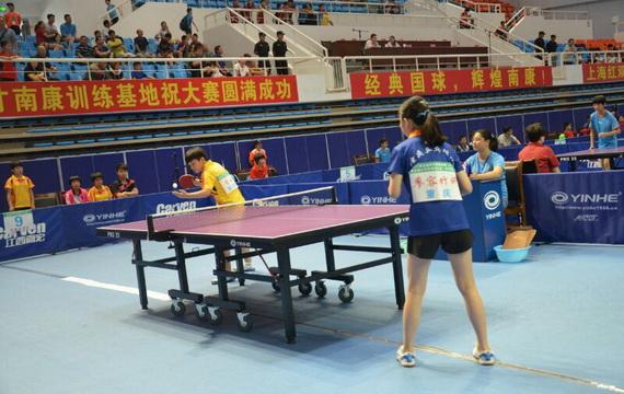 2017年全国少年乒乓球比赛分区赛顺利落幕