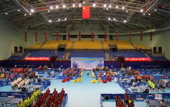 2017年全国体育传统项目学校乒乓球比赛九江举行