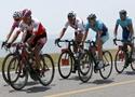 环湖赛第五赛段来到青海湖畔