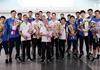 中国男排收获2018年世锦赛门票载誉回京